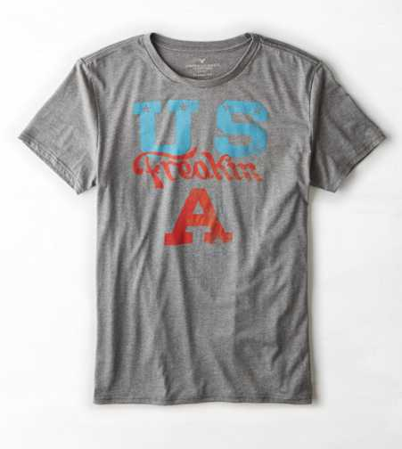 AEO US Freakin A Graphic T-Shirt