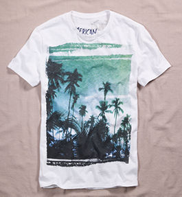 American Eagle Tall T shirt for Men