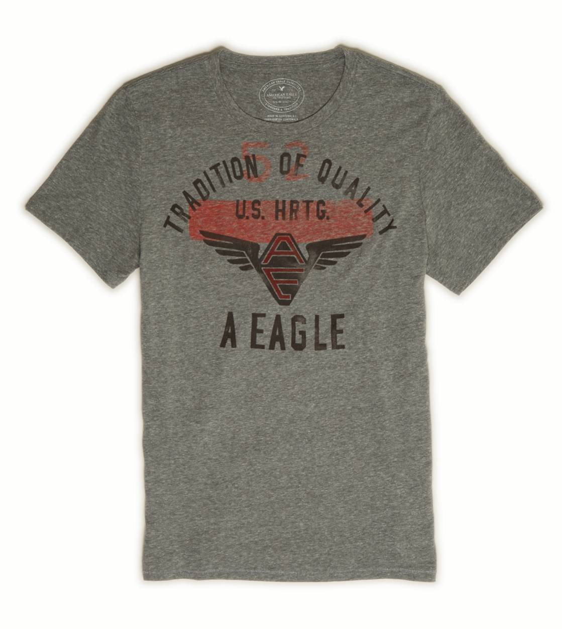 City Grey AE Heritage T-Shirt