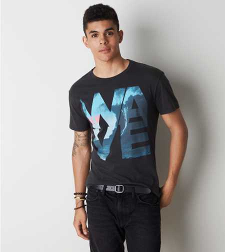 AEO New Wave Graphic T-Shirt - Buy One Get One 50% Off