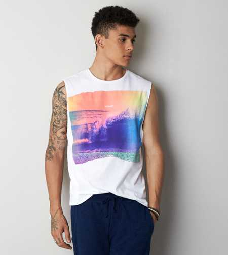 AEO Photo Real Muscle T-Shirt - Buy One Get One 50% Off