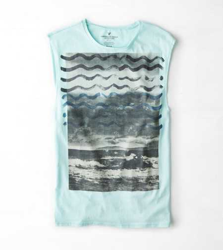 AEO Photo Real Muscle T-Shirt