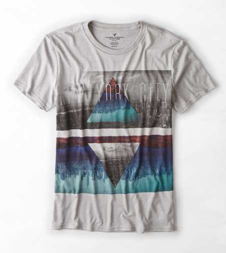 AEO NYC Photo Real T-Shirt