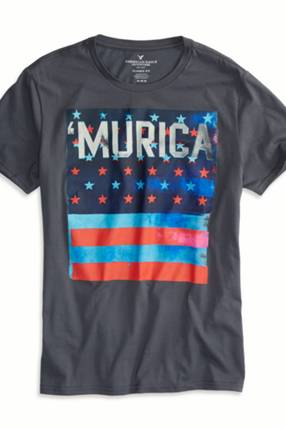 AEO 'Murica Graphic T-Shirt