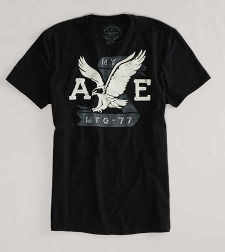 AE Signature Graphic Tee - Take 40% Off