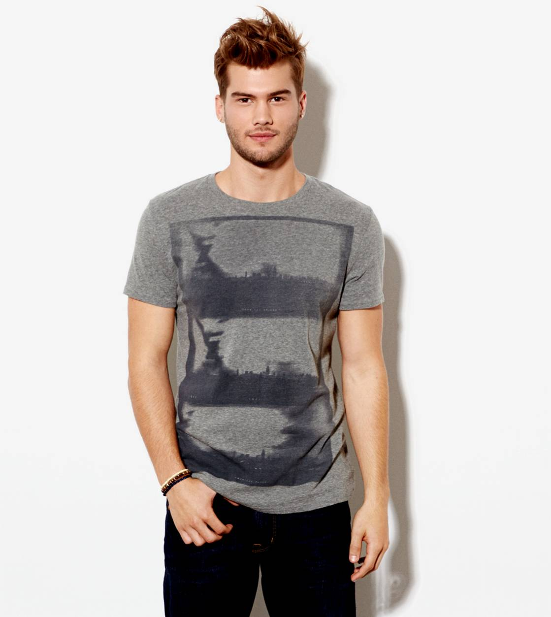 City Grey AE Photo Real T-Shirt