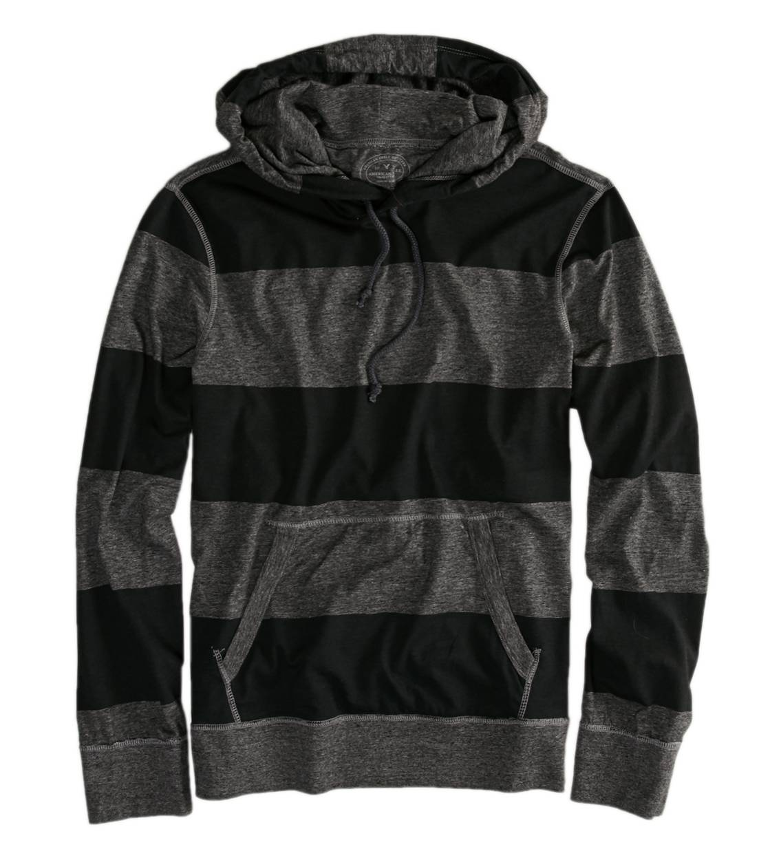 Gravel AE Striped Hoodie T-Shirt