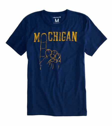 Michigan Vintage Crew Tee