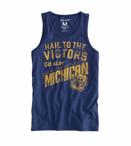 Michigan Vintage Tank