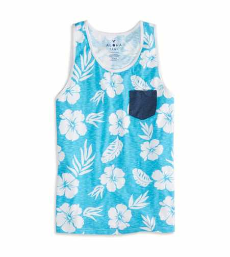 AEO Floral Tank - Buy One Get One 50% Off