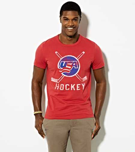AE USA Hockey T-Shirt