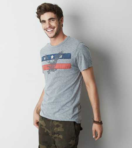 AEO Applique Graphc T-Shirt - Buy One Get One 50% Off