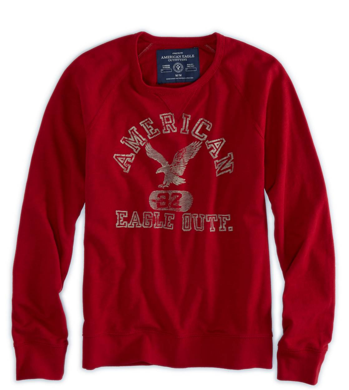 Red Cord AE Signature Crew Sweatshirt