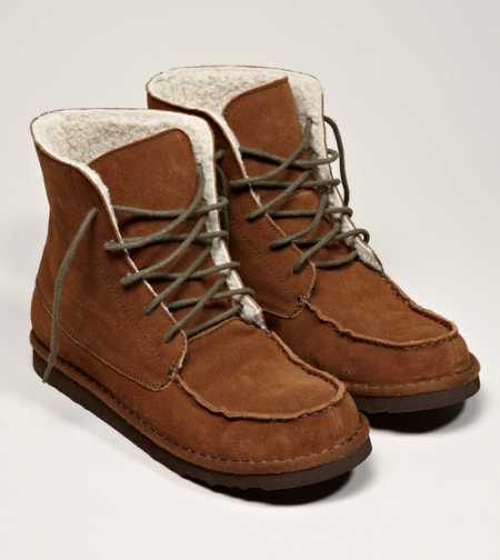 AEO Suede Lace-Up Boot - Free Shipping On Shoes