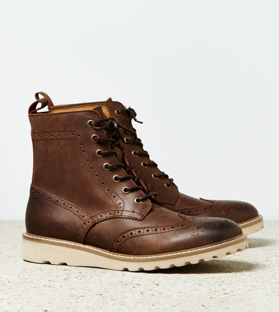 Brown AEO Snowcap Boot