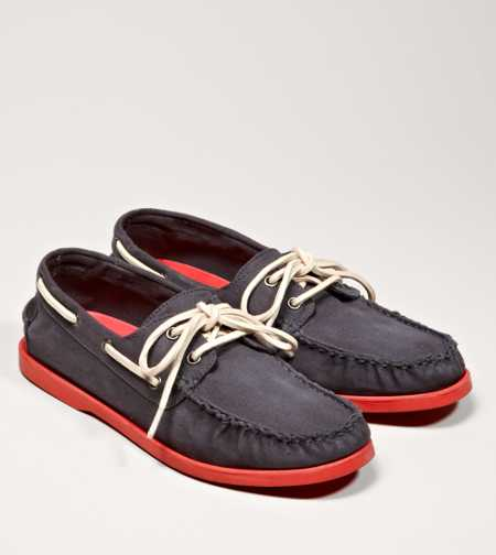 AEO Canvas Boat Shoe - Free Shipping On Shoes
