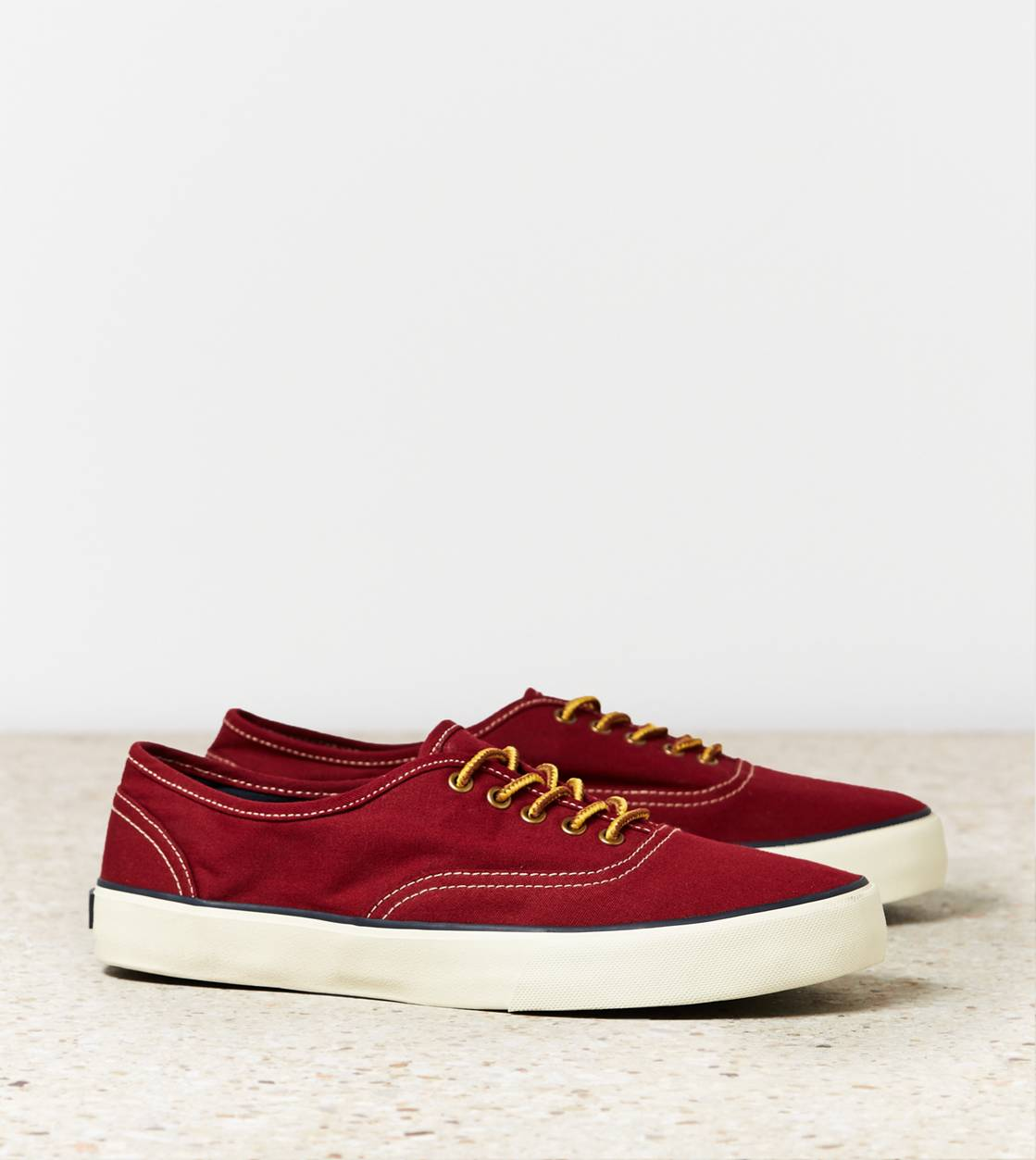 Sunset Red AEO Canvas Sneaker