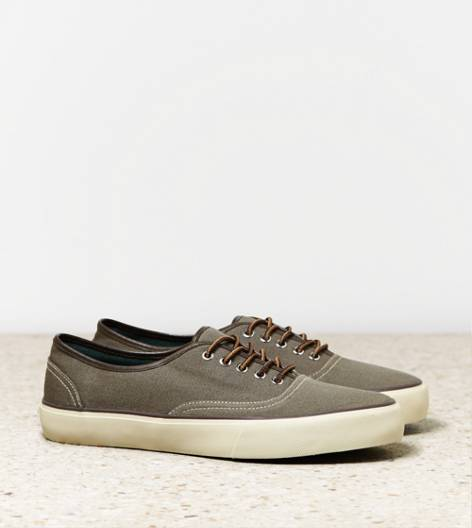 Grey AEO Canvas Sneaker