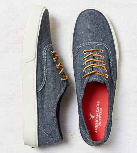 Chambray Blue AEO Canvas Sneaker