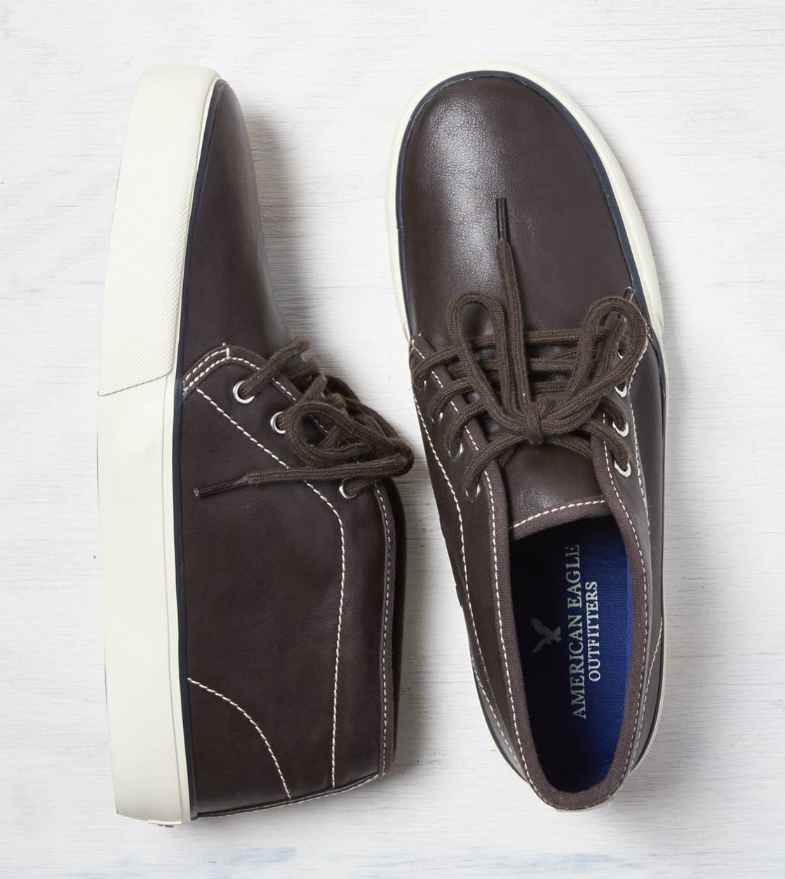 Dark Brown AEO Chukka Sneaker