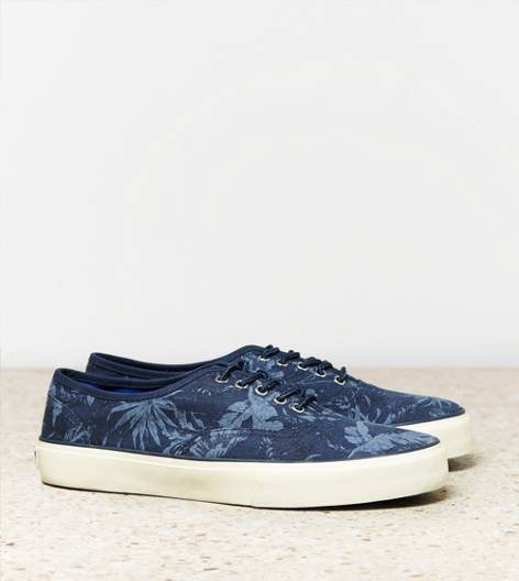 Dark Blue AEO Printed Sneaker