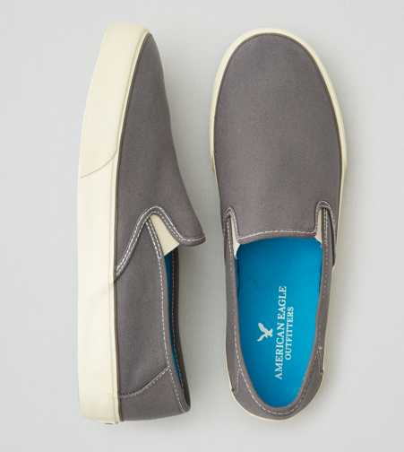 AEO Canvas Slip-On Sneaker - Free Shipping