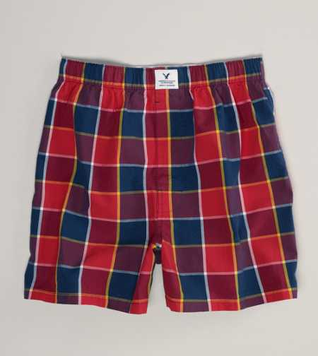 AE Transformer Plaid Boxer