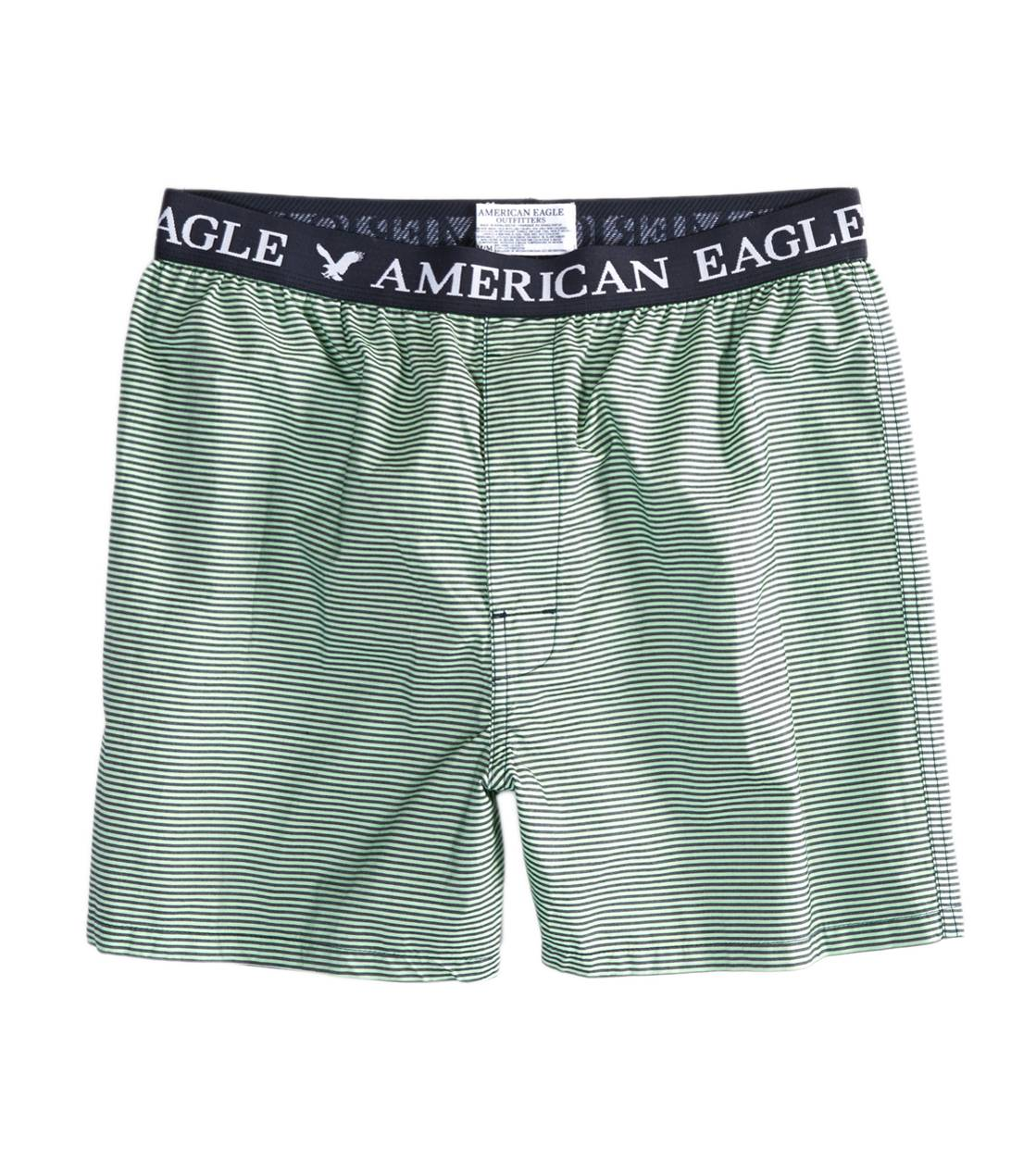 Navy AE Striped Boxer