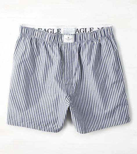 Blue AE Striped Boxer