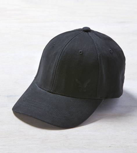 Black AEO Eagle Fitted Cap