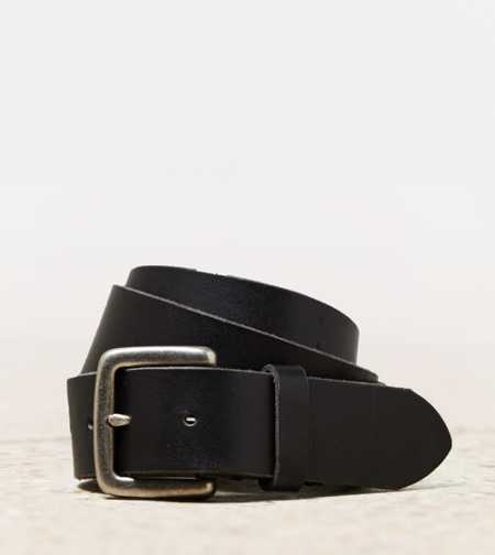 AEO Plain Leather Belt