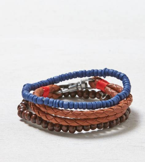 Brown AEO Bracelet Set