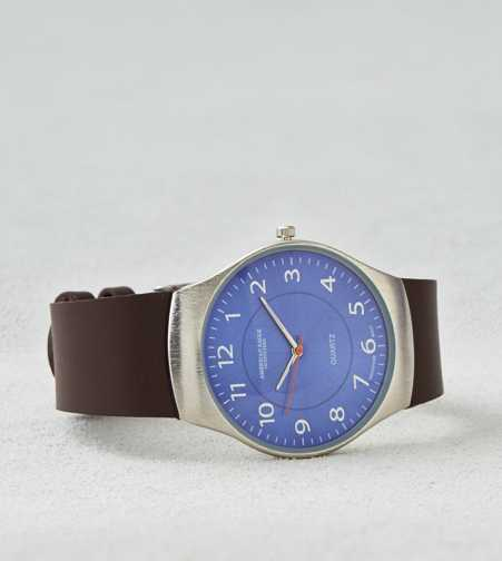 AEO Brown Leather Watch