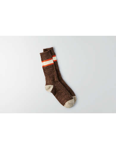American Eagle AEO Stripe Cuff Boot Socks