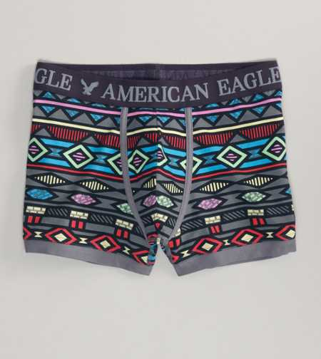 AE Bold Print Low Rise Trunk - 2 for $20