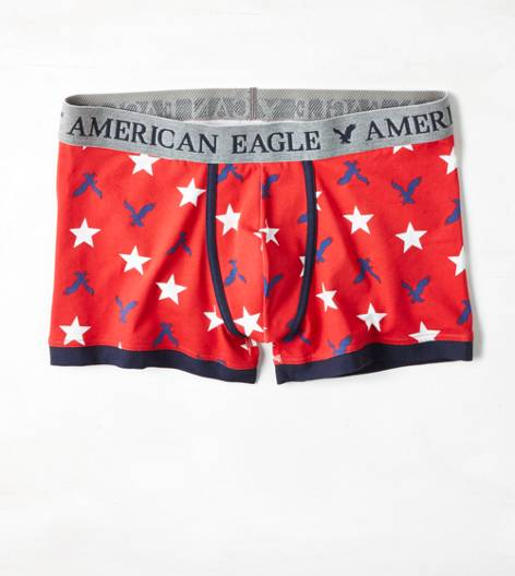 Red AE Eagles Low Rise Trunk