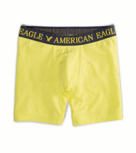 Party Yellow AE Solid Athletic Trunk