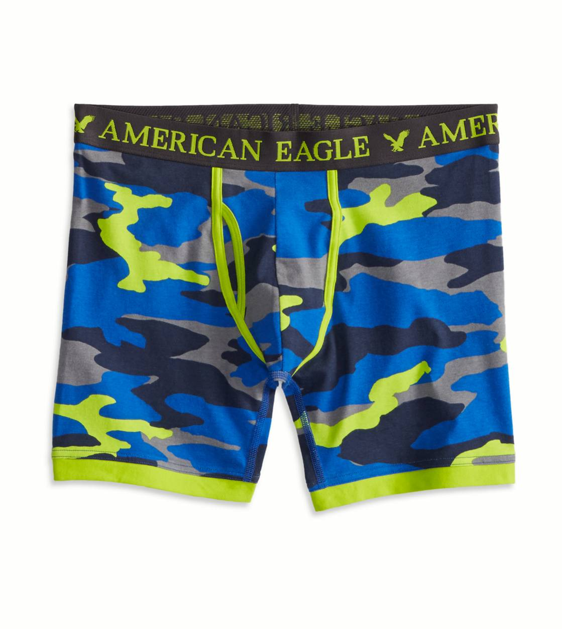 Blue AE Camo Athletic Trunk