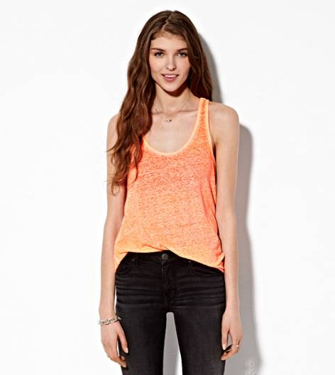 Neon Orange AE Real Soft® Favorite Tank