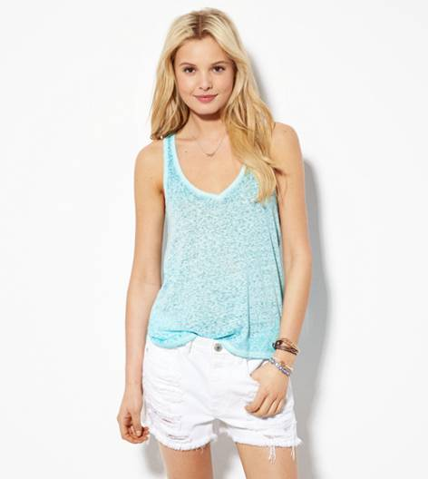 Dream Blue AE Real Soft® Favorite V Tank