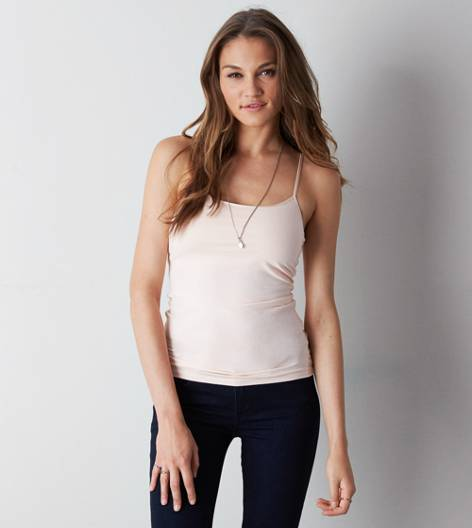 Pink AEO Shelf Cami