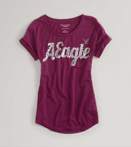 AE Embellished Favorite Tee - Take 40% off