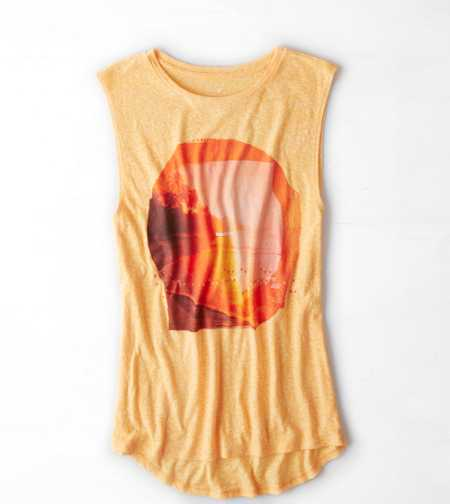 AE Sunset Graphic T-Shirt