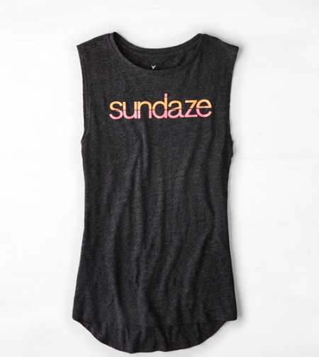 AE Sundaze Graphic Muscle Tank - Buy One Get One 50% Off