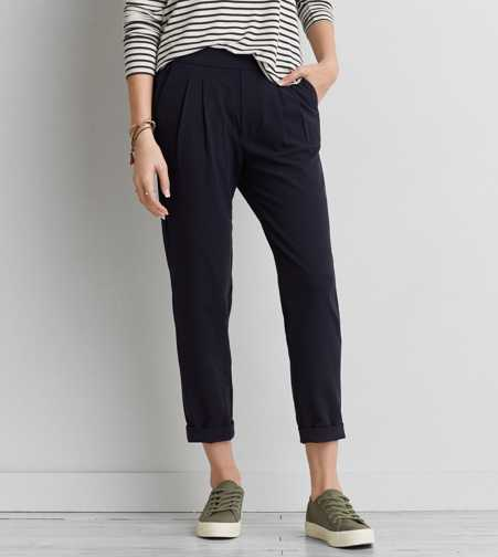 AEO Pleated Soft Pant