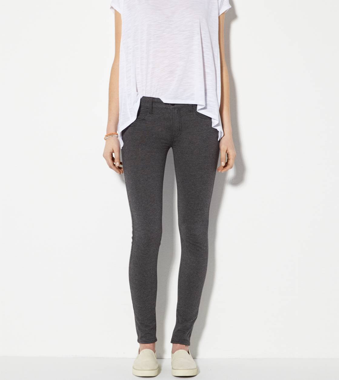 Heather Grey Knit Jegging