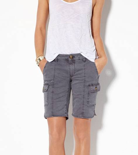 Grey AE Cargo Bermuda Short