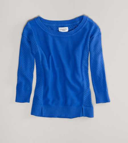 AE Pointelle Sweater