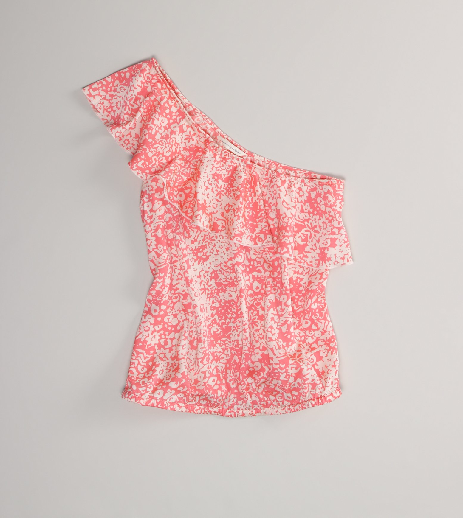 AE One-Shoulder Ruffle Top - American Eagle Outfitters