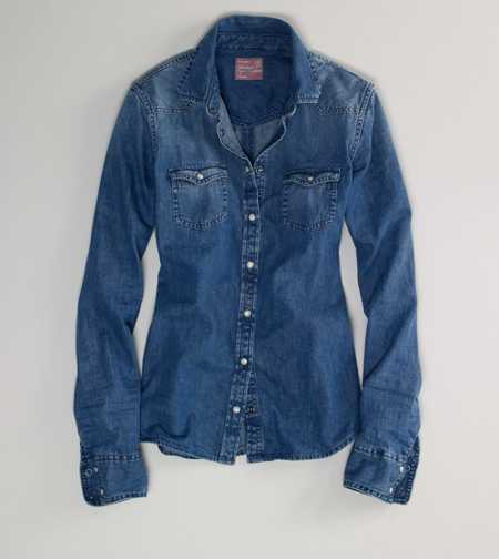 AE Dark Denim Shirt